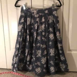 Sweet chambry skirt